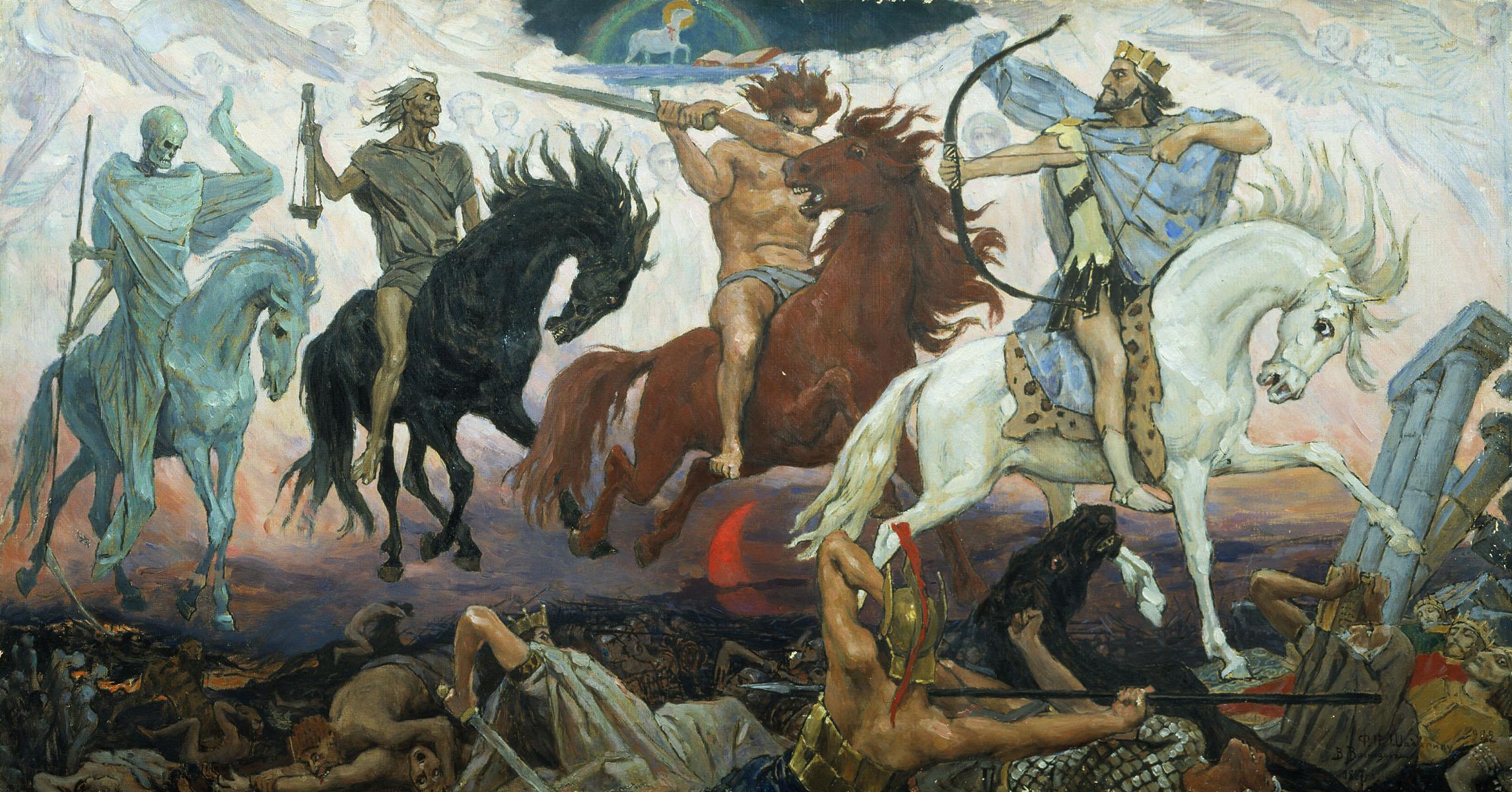 Die 4 apokalyptischen Reiter